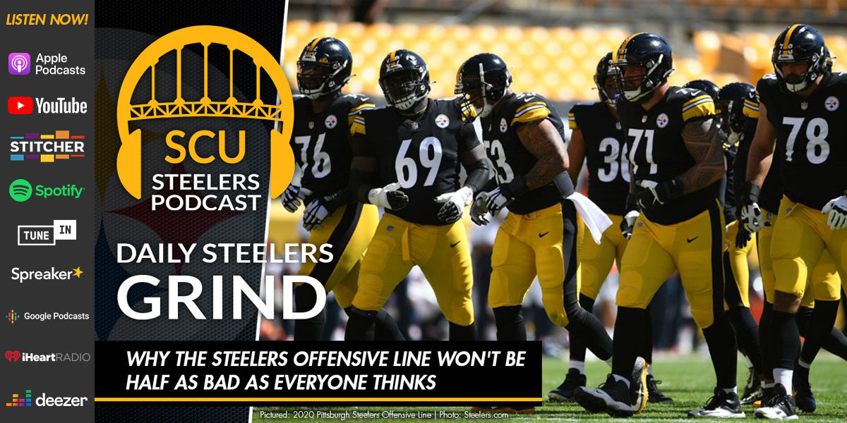 Why the Steelers offensive line won't be half as bad as everyone thinks