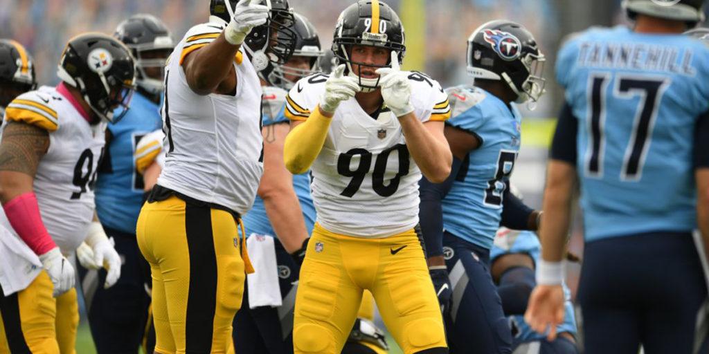 Pittsburgh Steelers LB TJ Watt