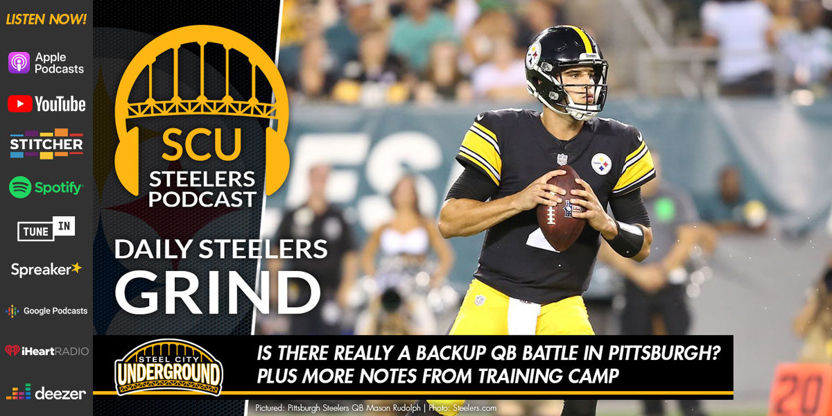 Is there really a backup QB battle in Pittsburgh? Plus more notes from training camp