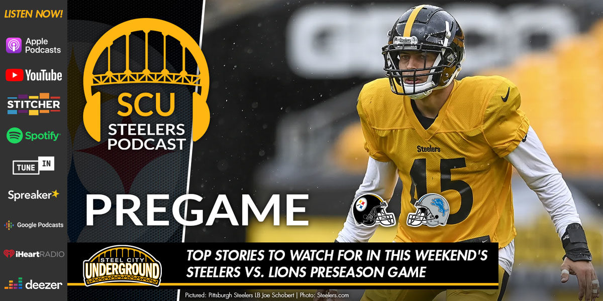 Top stories to watch for in this weekend's Steelers vs. Lions preseason game