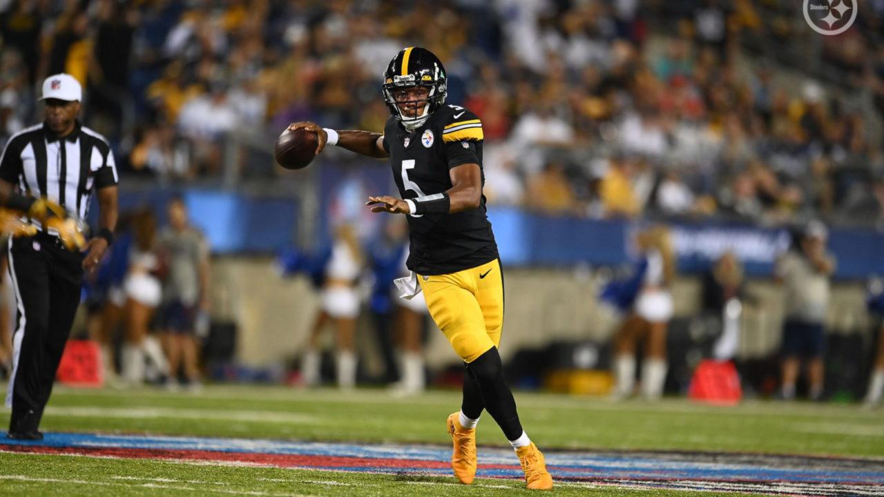 Pittsburgh Steelers QB Joshua Dobbs