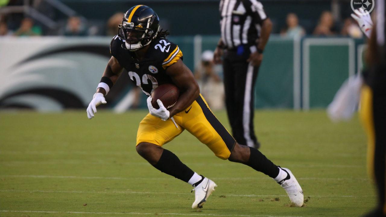 Pittsburgh Steelers RB Najee Harris