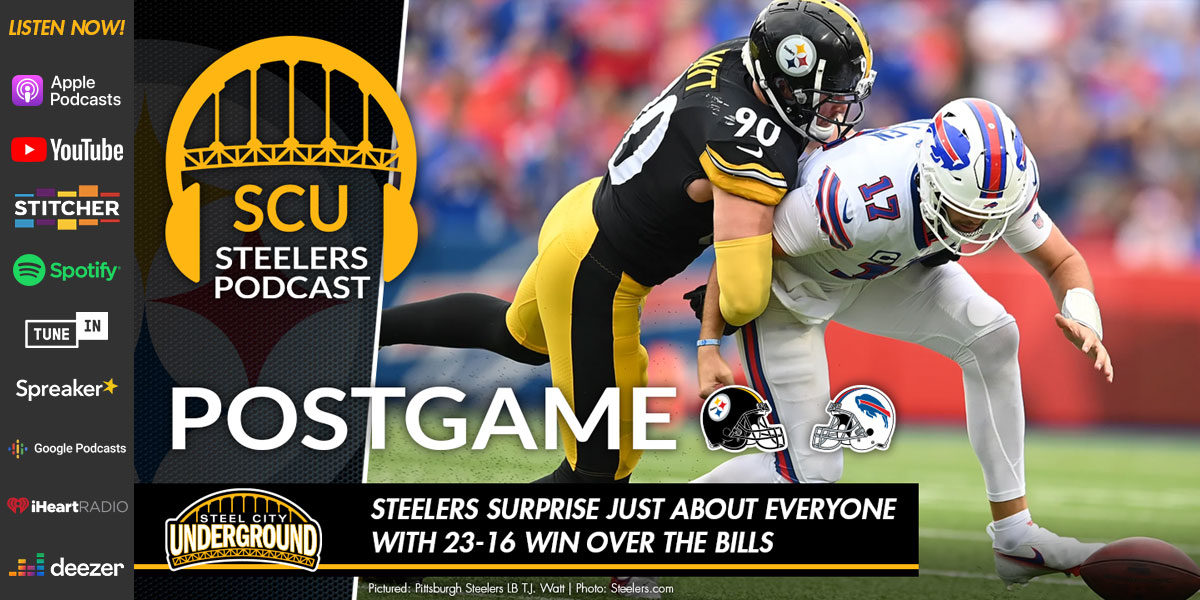 Steelers surprise just about everyone with 23-16 win over the Bills