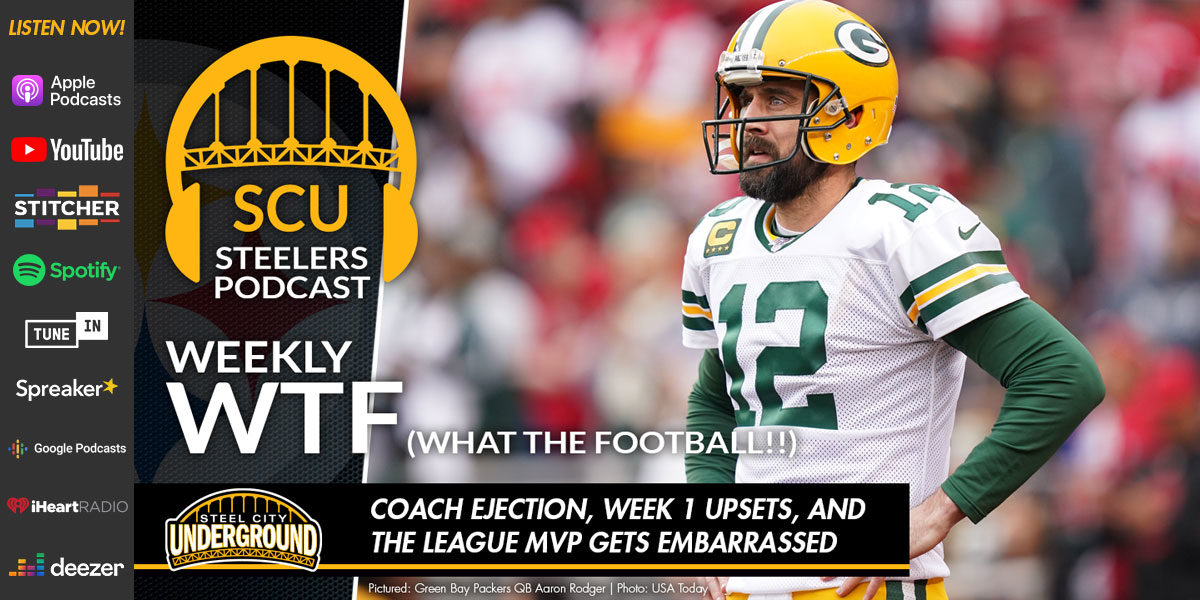 Weekly WTF: Coach ejection, Week 1 upsets, and the league MVP gets embarrassed