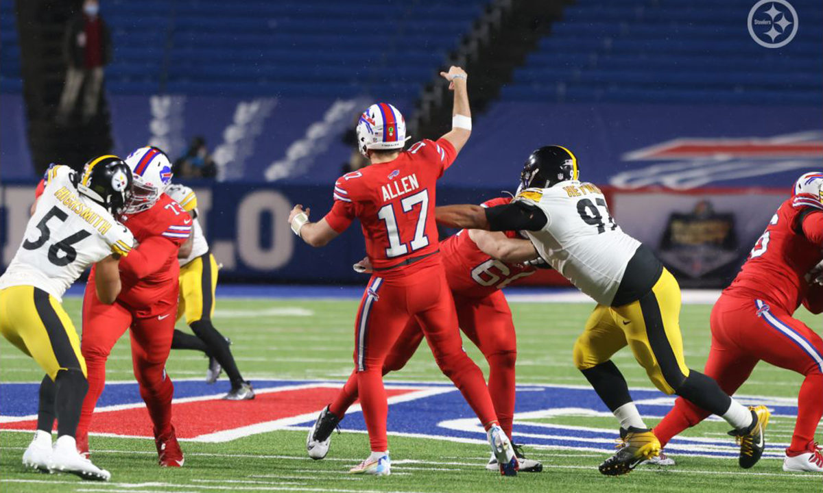 Pittsburgh Steelers Alex Highsmith and Cam Heyward