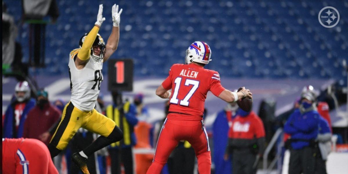 Pittsburgh Steelers linebacker TJ Watt
