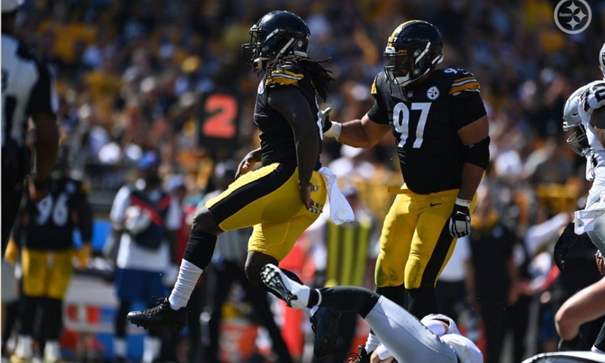 Pittsburgh Steelers LB Melvin Ingram