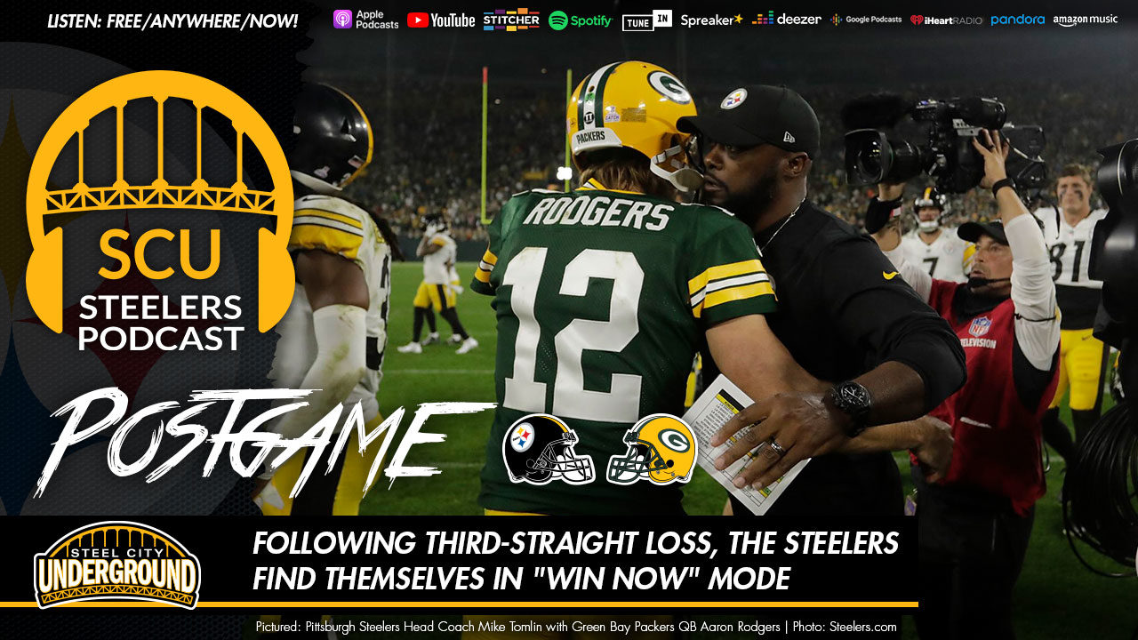 """Following third-straight loss, the Steelers find themselves in """"win now"""" mode"""