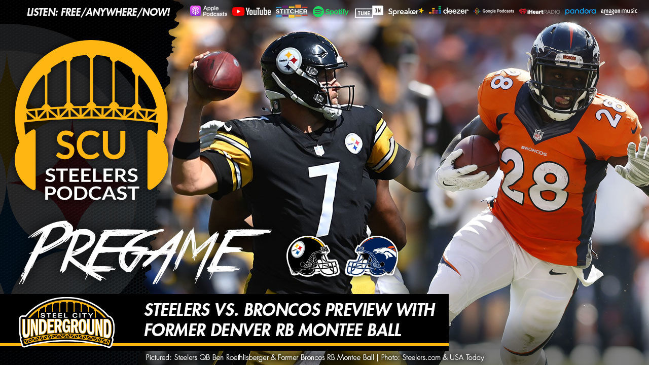 Steelers vs. Broncos preview with former Denver RB Montee Ball