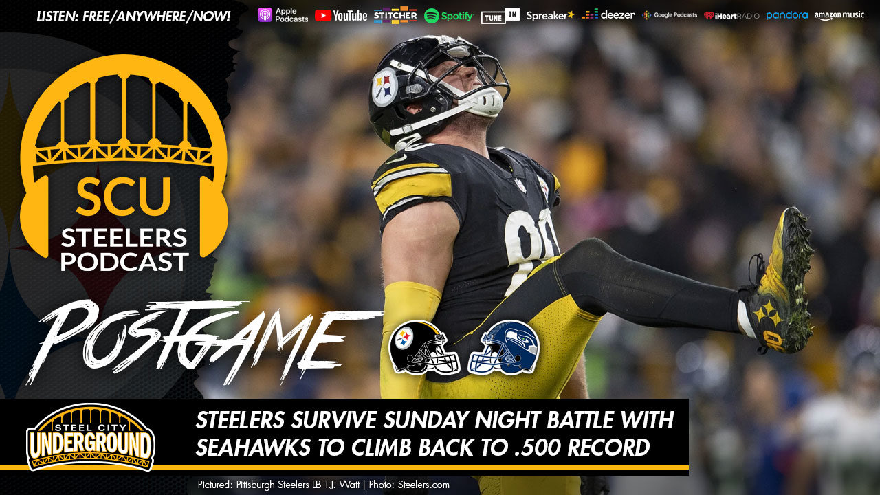 Steelers survive Sunday Night battle with Seahawks to climb back to .500 record