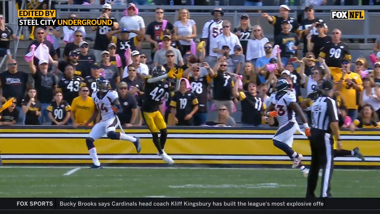 Pittsburgh Steelers CB James Pierre